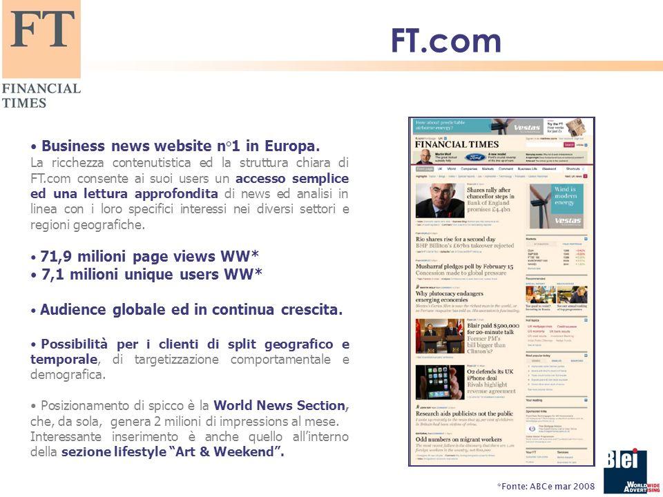Business news website n°1 in Europa.