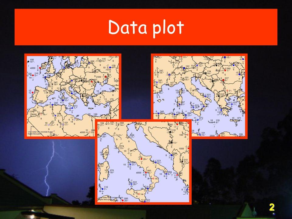 Corso Digital Atmosphere - I livello 2 Data plot