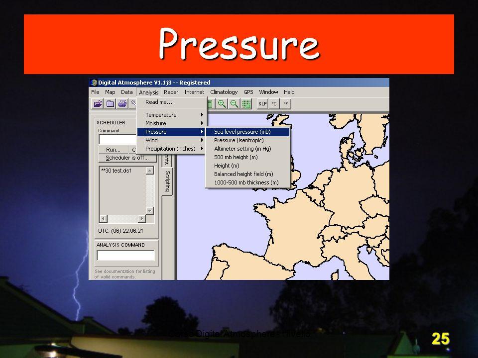 Corso Digital Atmosphere - I livello 25 Pressure