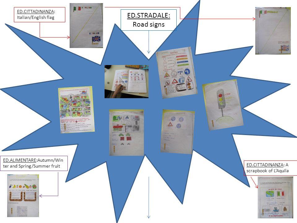Start Presentazione agli alunni del progetto Clil legato alle Educazioni e più in particolare allEducazione Stradale: ON THE ROAD: ROAD SIGNS. Condivi