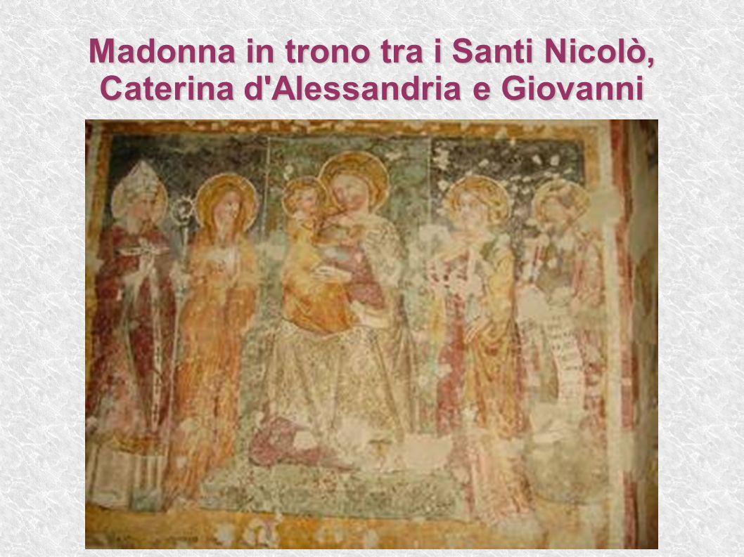 Madonna in trono tra i Santi Nicolò, Caterina d'Alessandria e Giovanni