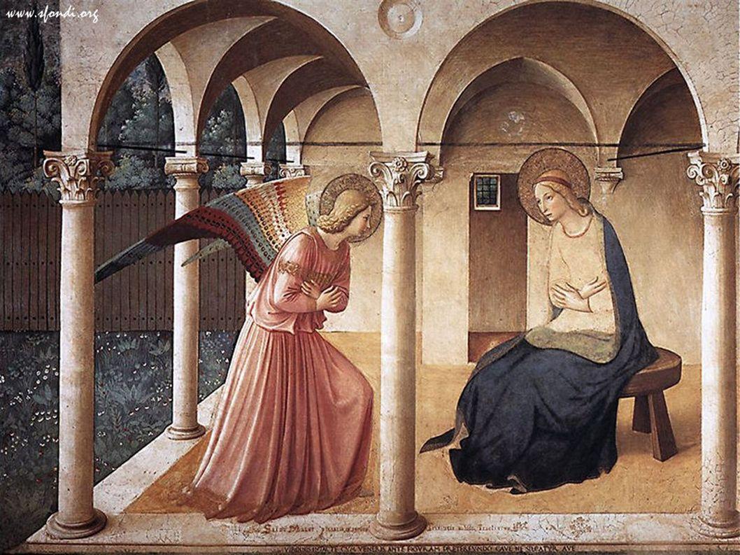Capitello, Basilica di Aquileia. San Giovanni Battista, Maria con Gesù, San Michele