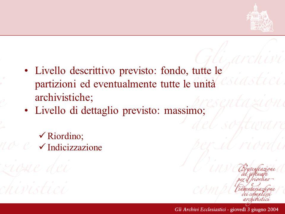 Catanzaro-Squillace Denominazione : Archivio Storico Diocesano di Catanzaro consistenza 1946 u.a.