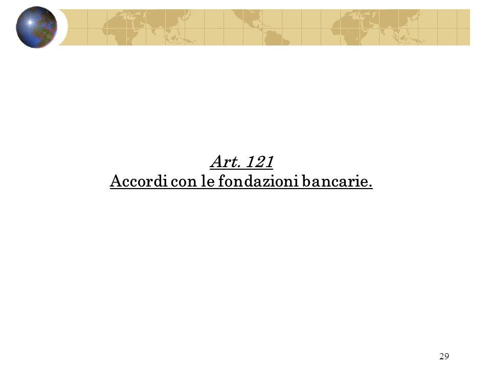 28 Art. 118 Promozione di attività di studio e ricerca.