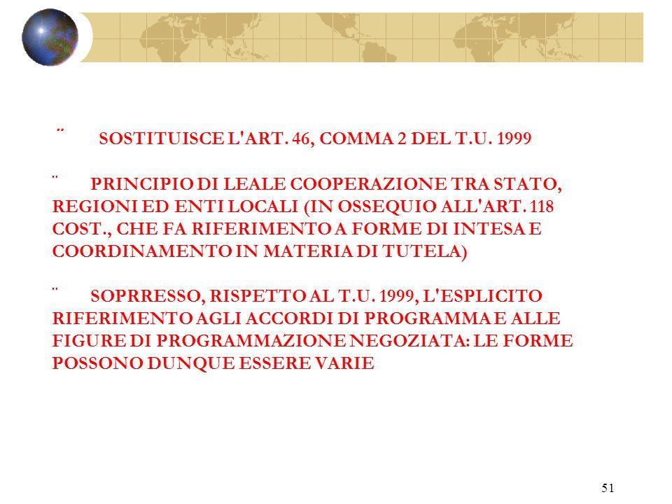 50 Art. 40 Interventi conservativi su beni delle regioni e degli altri enti pubblici territoriali.