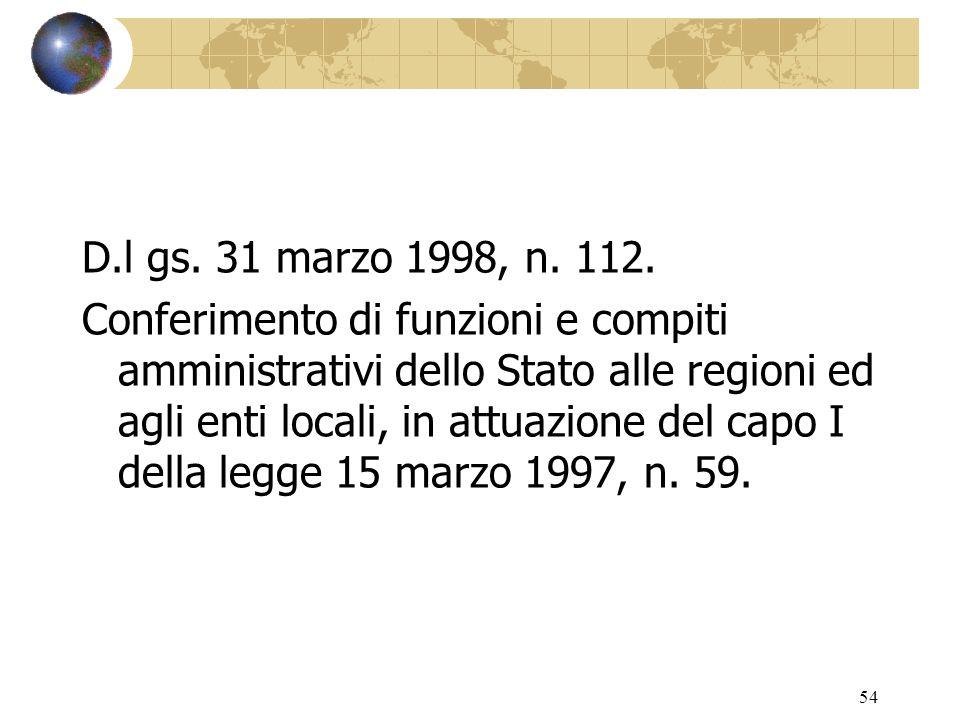 53 D.P.R.24 luglio 1977, n. 616. Attuazione della delega di cui allart.