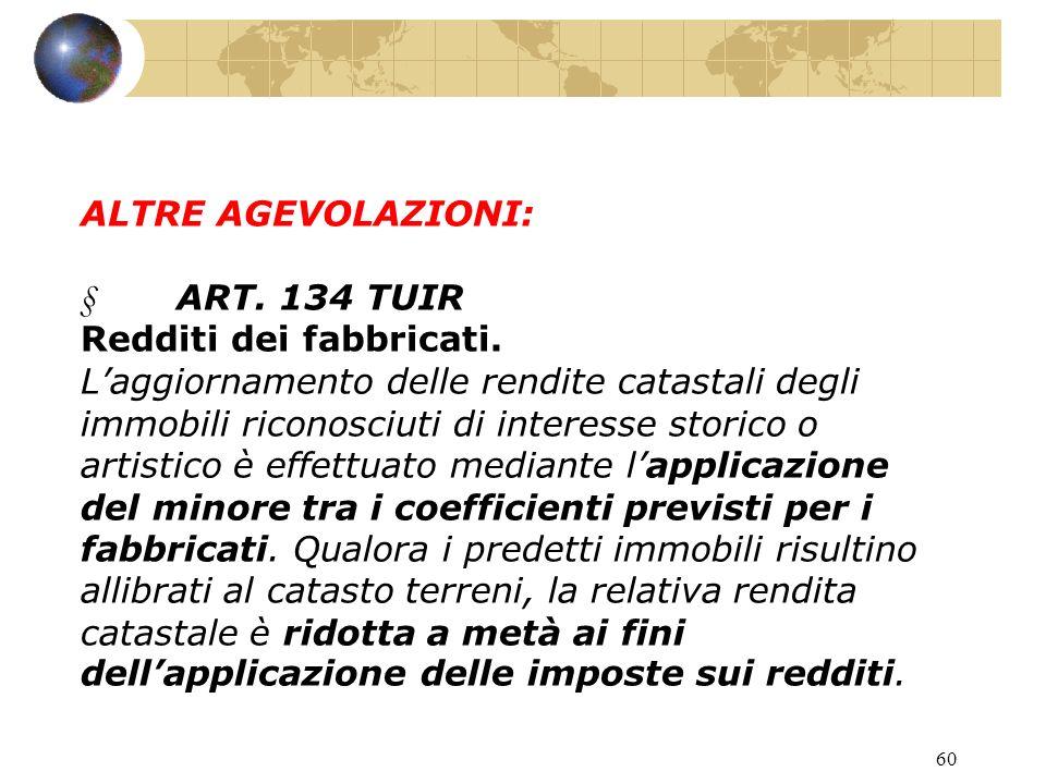 59 ART. 65 Oneri di utilità sociale.