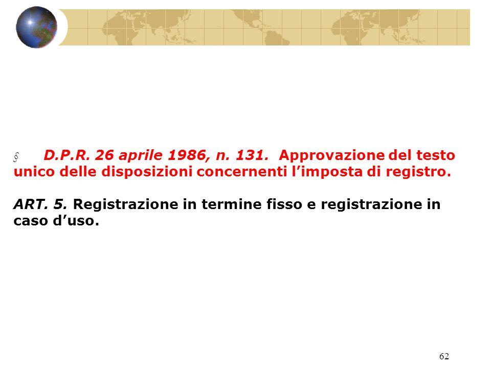 61 ART. 12-13-25-59 D.Lgs. 31 ottobre 1990, n. 346 Beni non compresi nellattivo ereditario.