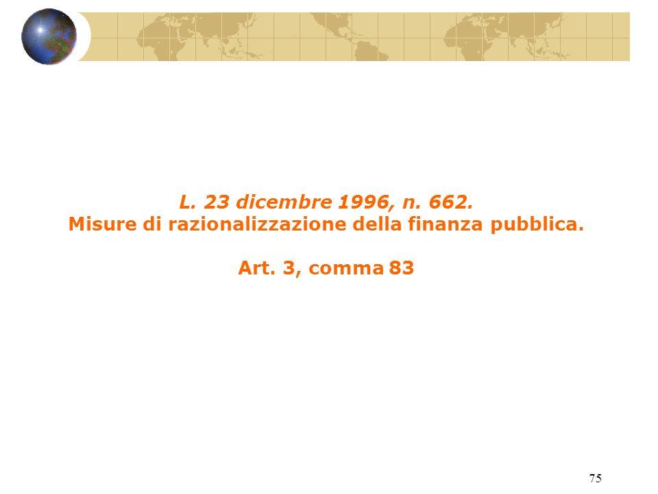 74 D.L. 20 maggio 1993, n. 149. Interventi urgenti in favore delleconomia.