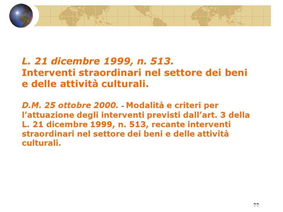 76 Circ. Min. 5 giugno 1997, n. 127. L. 23 dicembre 1996, n.
