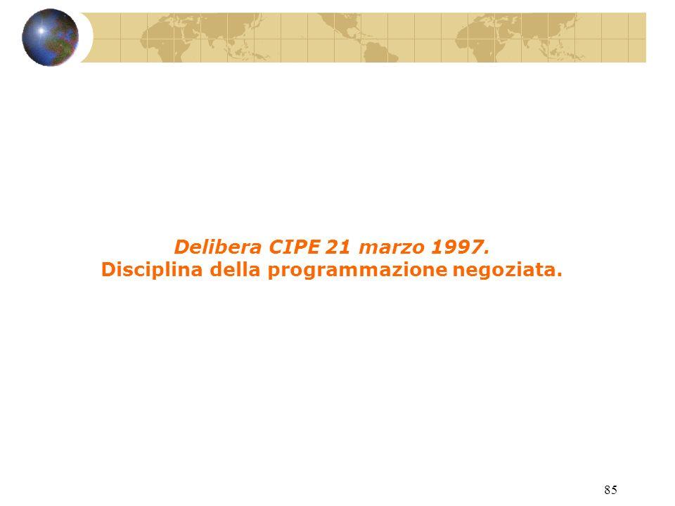 84 L. 23 dicembre 1996, n. 662. Misure di razionalizzazione della finanza pubblica.