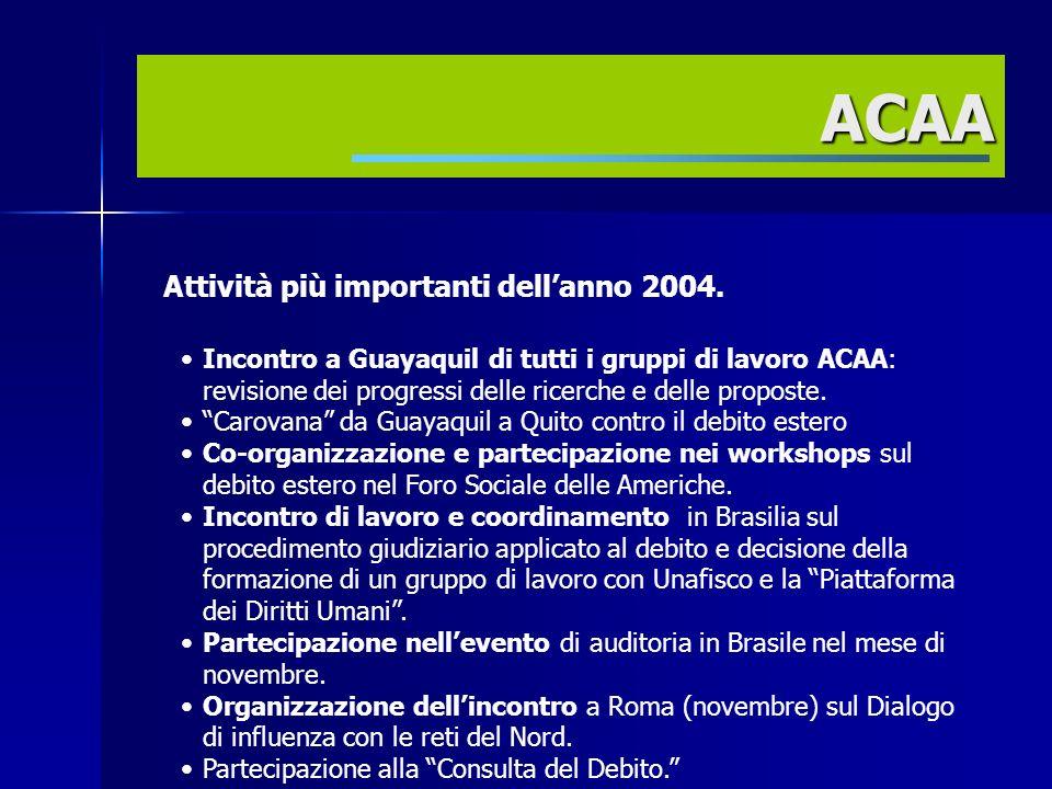 Prospettive per lanno 2005 Contribuire criticamente al dibattito sugli indicatori di sostenibilità.