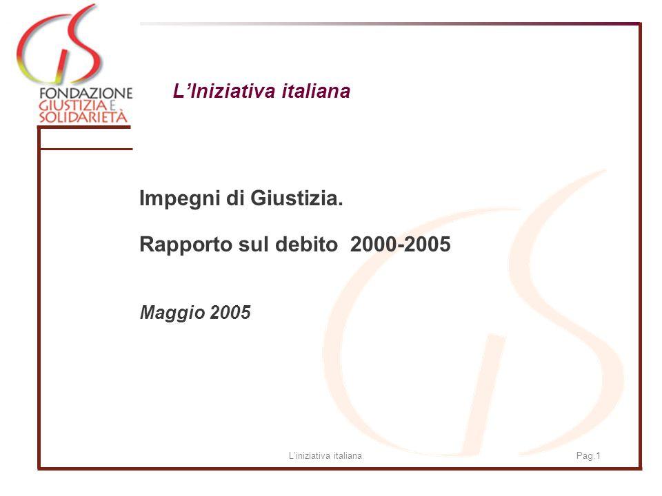 Liniziativa italianaPag.1 LIniziativa italiana Impegni di Giustizia.