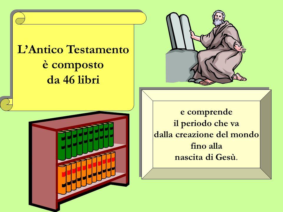 LAntico Testamento prepara il Nuovo Testamento L A n t i c o T e s t a m e n t o p r e p a r a i l N u o v o T e s t a m e n t o Il Nuovo Testamento p
