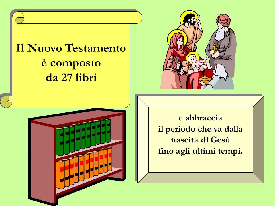 LAntico Testamento è composto da 46 libri LAntico Testamento è composto da 46 libri e comprende il periodo che va dalla creazione del mondo fino alla