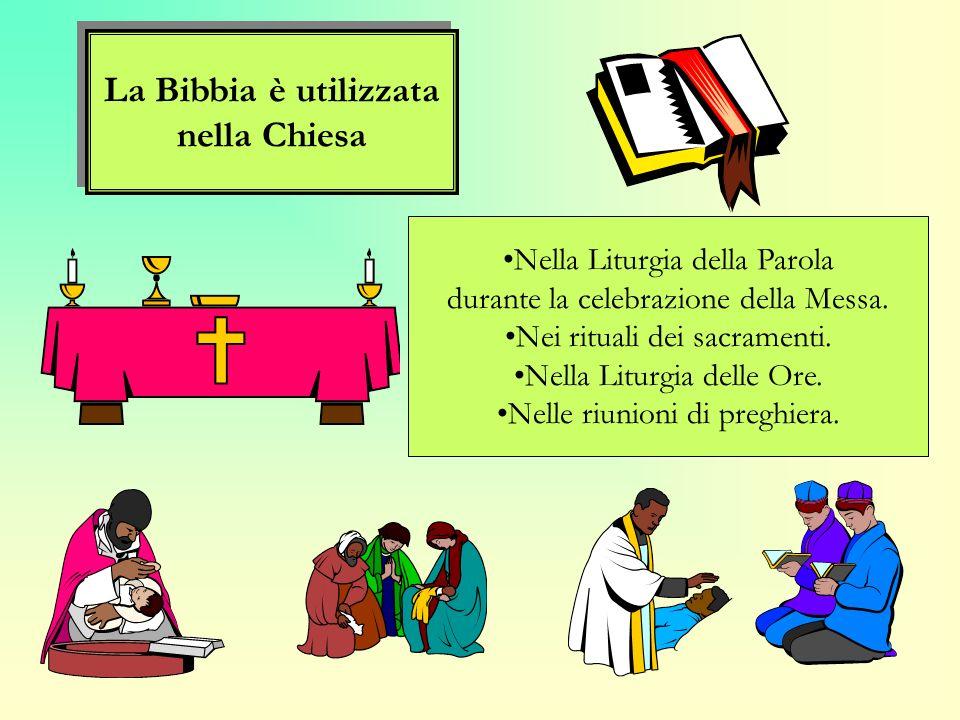 Luso della Scrittura nella Chiesa Luso della Scrittura nella Chiesa La Bibbia è la fonte della vita della Chiesa