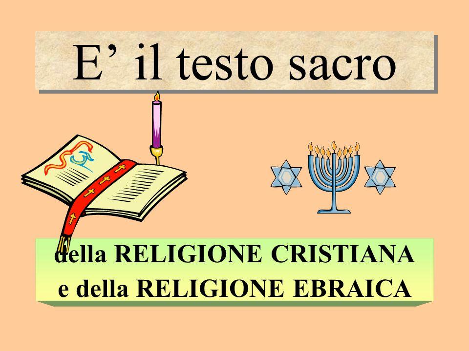 La parola Bibbia deriva dal greco e significa I LIBRI deriva dal greco e significa I LIBRI