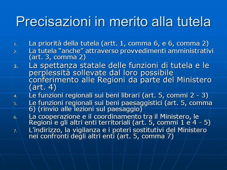 F.Gli interventi conservativi imposti (artt. 32 - 33 - 34, comma 1) 1.