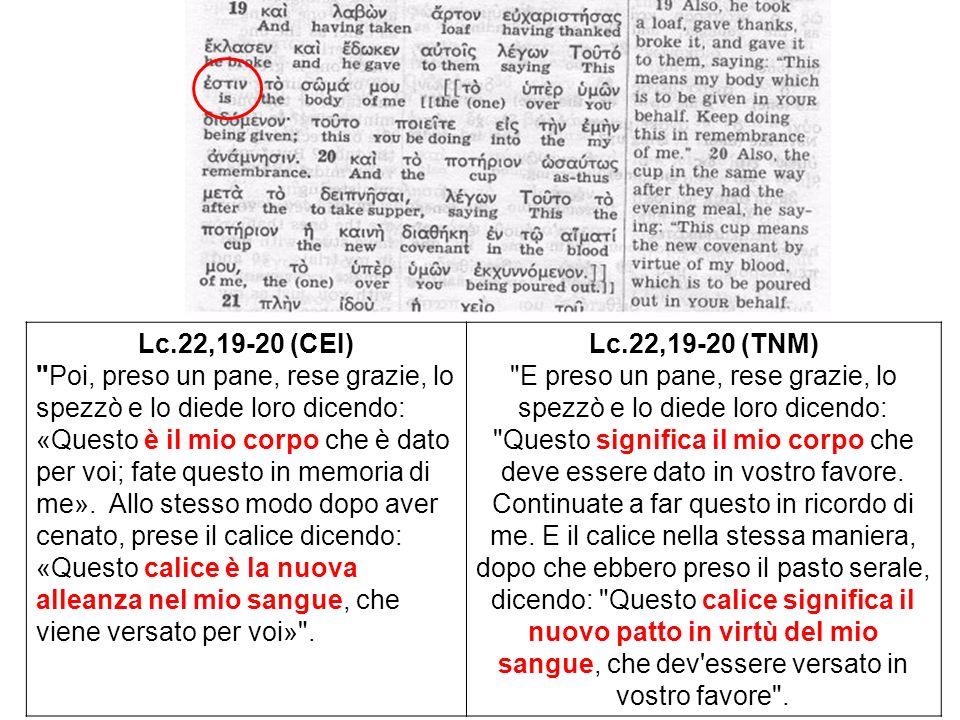 Lc.22,19-20 (CEI)