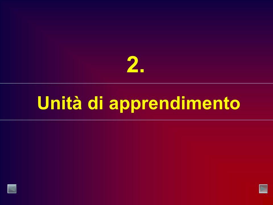 Unità di apprendimento 2.