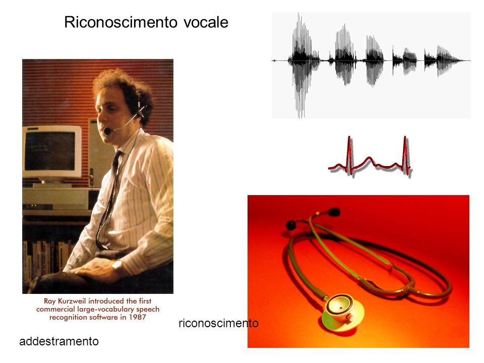 Riconoscimento vocale addestramento riconoscimento