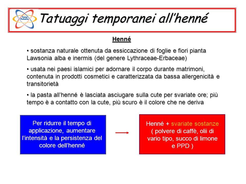 Tatuaggi temporanei allhenné sostanza naturale ottenuta da essiccazione di foglie e fiori pianta Lawsonia alba e inermis (del genere Lythraceae-Erbace