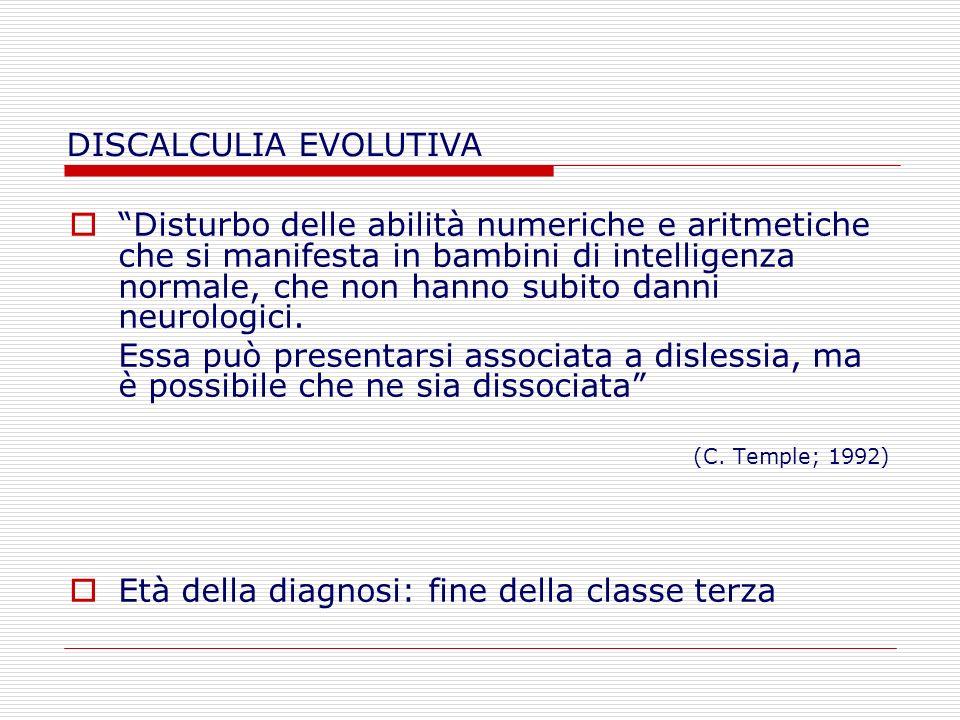 Bibliografia La discalculia evolutiva La discalculia evolutiva (Biancardi, Mariani, Pieretti) – Ed.