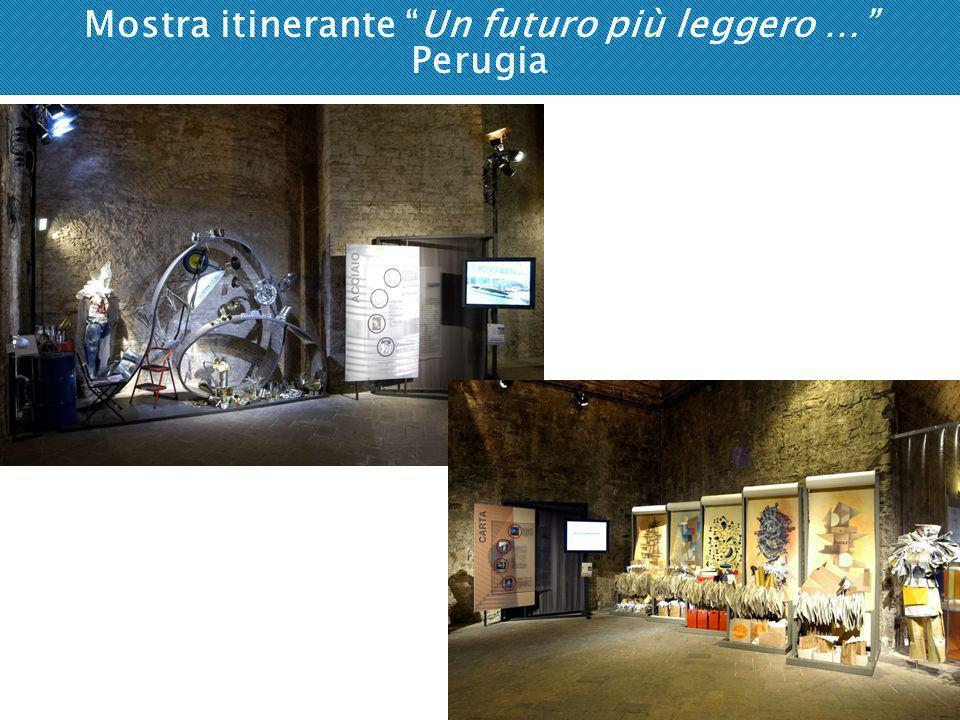 Mostra itinerante Un futuro più leggero … Perugia