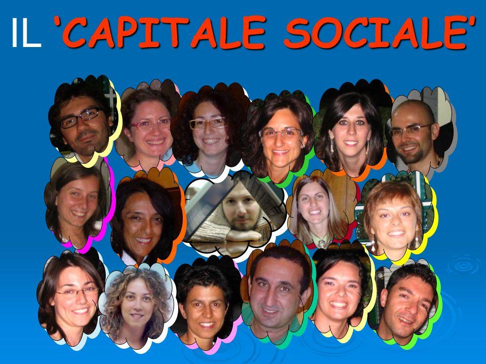 CAPITALE SOCIALE IL CAPITALE SOCIALE