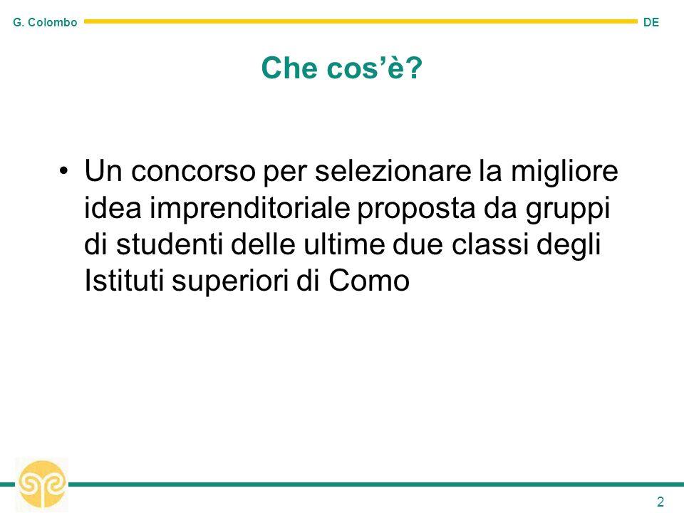 DE G. Colombo 2 Che cosè.
