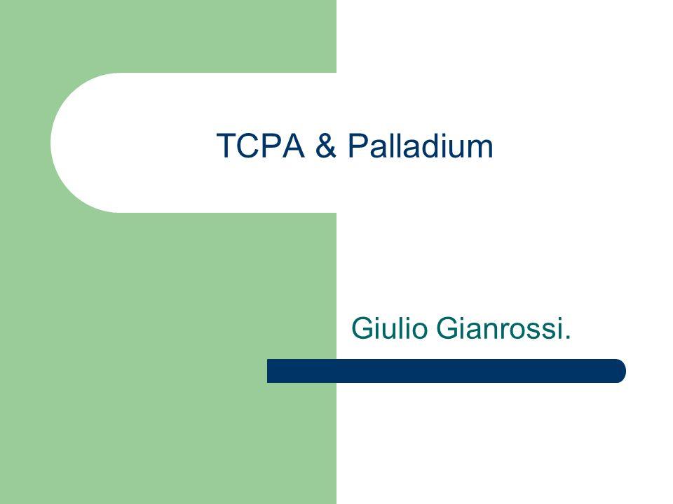 Liberta di scelta.Il TOR di Palladium eseguira trusted agents di qualunque produttore.