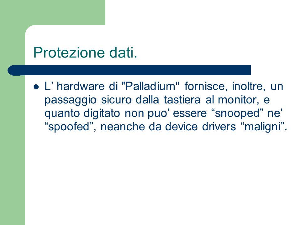 Protezione dati. L hardware di