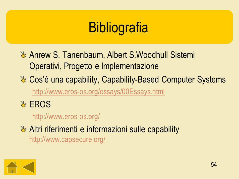 54 Bibliografia Anrew S.