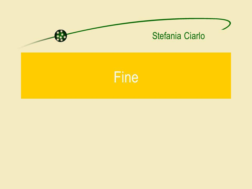 Stefania Ciarlo Fine