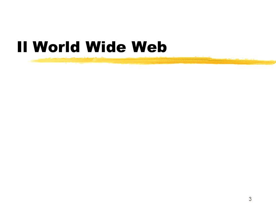 3 Il World Wide Web