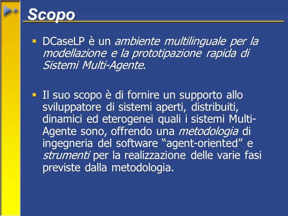 DCaseLP è un ambiente multilinguale per la modellazione e la prototipazione rapida di Sistemi Multi-Agente.