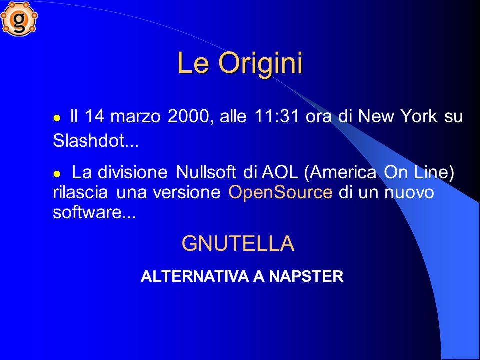 Le Origini Il 14 marzo 2000, alle 11:31 ora di New York su Slashdot...