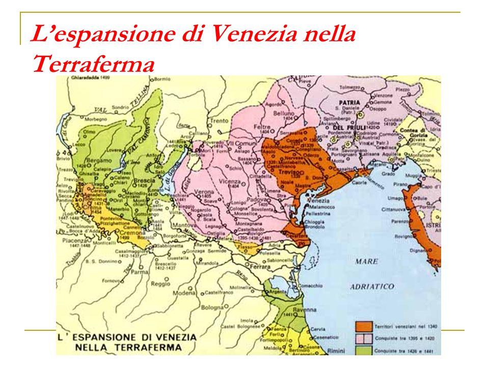 Lespansione di Venezia nella Terraferma