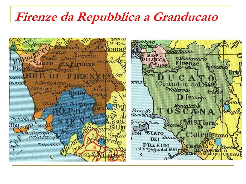 Lo Stato dei Presidi Lungo le coste della Toscana resta a lungo indipendente il territorio di Piombino, che con Scarlino, Castiglione della Pescaia e parte dellisola dElba (la costa orientale con la fortezza di Porto Longone) costituisce lo Stato dei Presidi, sotto la signoria della famiglia Appiani, proclamati principi nel 1591 e fedeli alleati della Spagna.