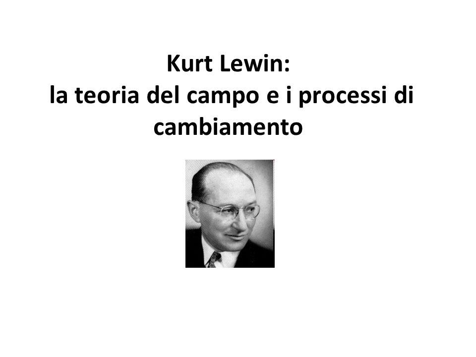 Kurt Lewin (1890-1947) Origini e formazione Nasce nella Prussia Orientale da una famiglia di commercianti di origine ebraica.