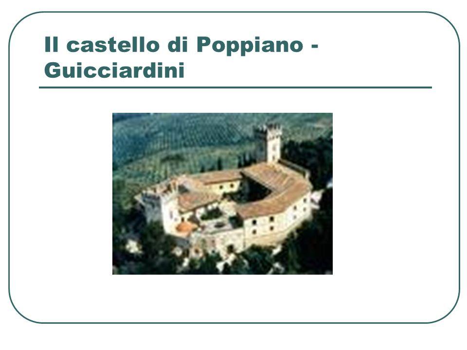 Il castello di Poppiano - Guicciardini