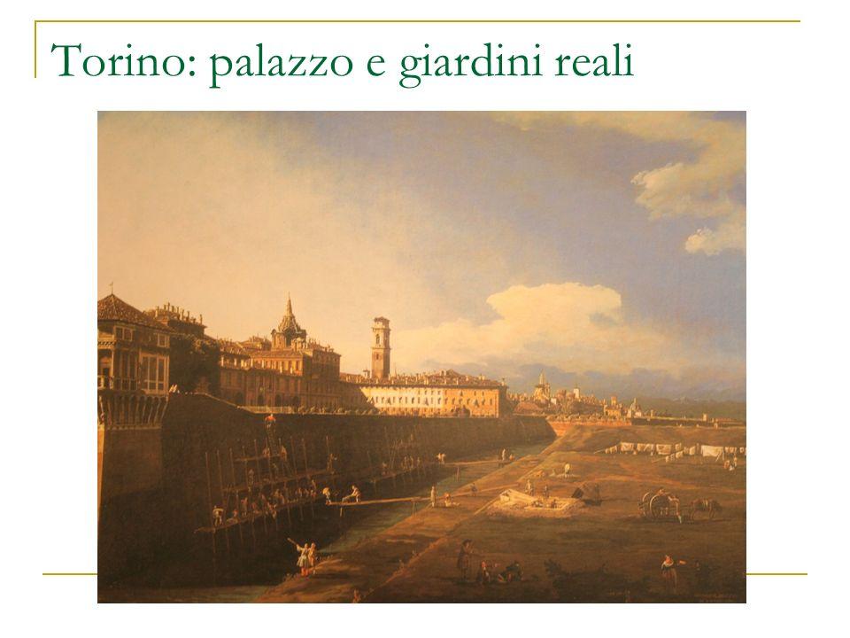Torino: palazzo e giardini reali