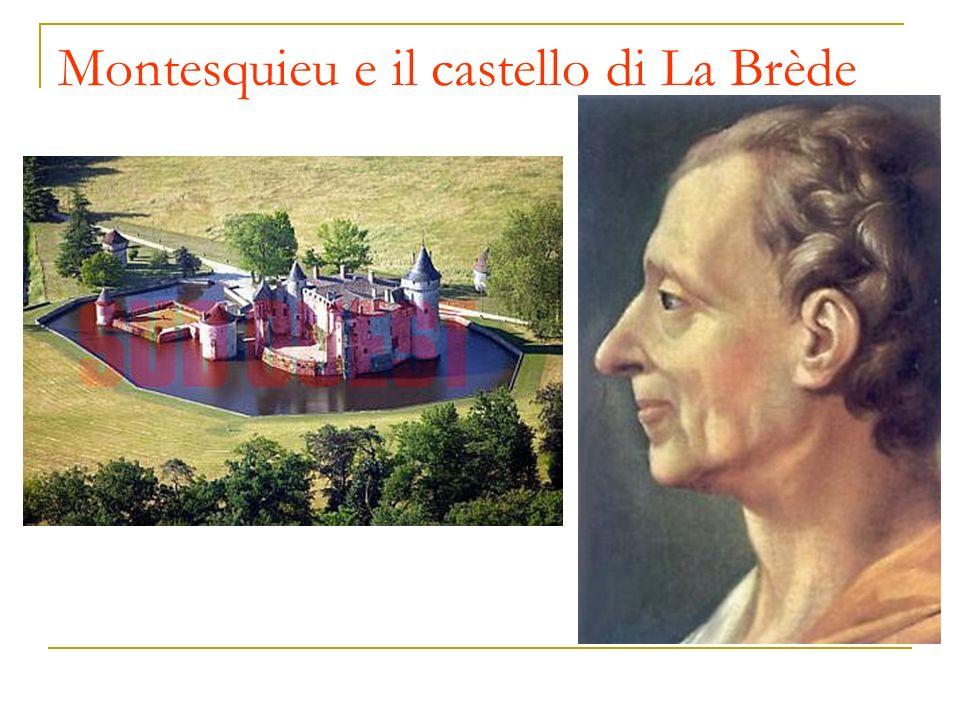 Montesquieu e il castello di La Brède