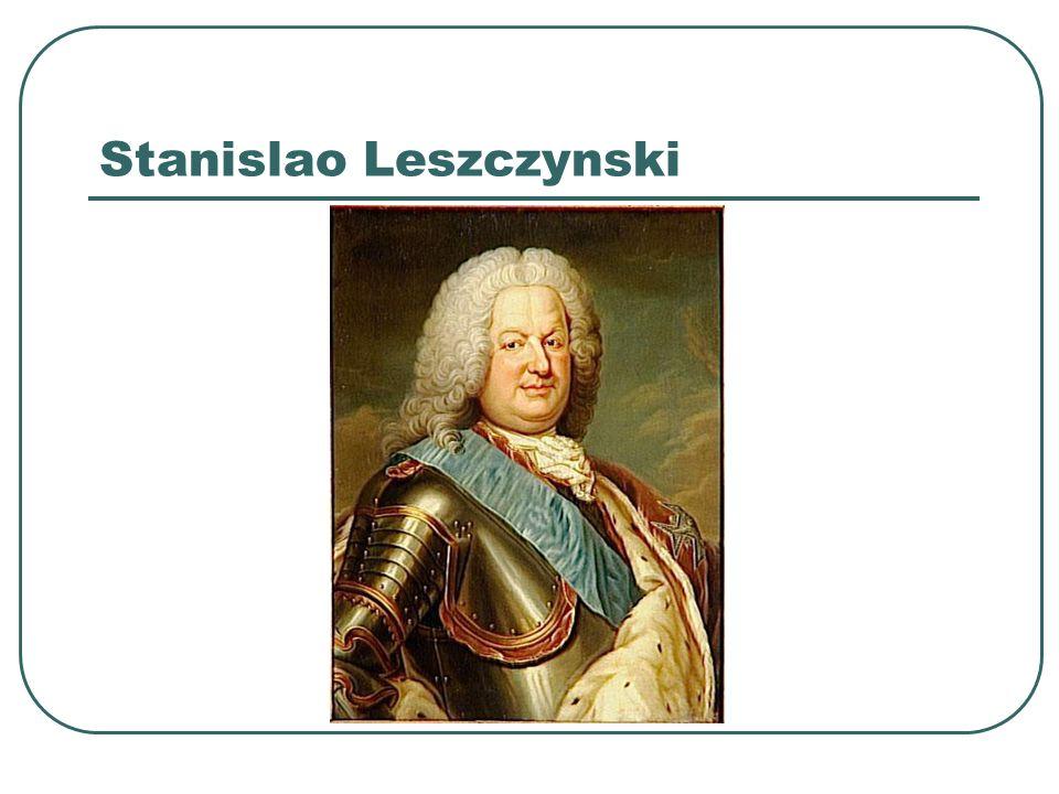Stanislao Leszczynski