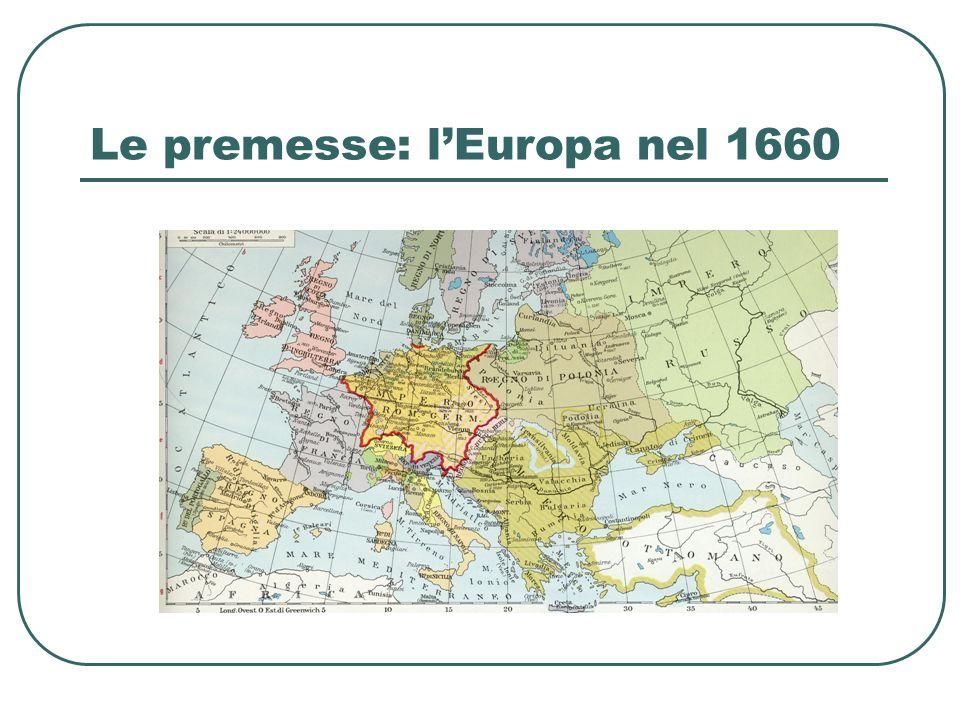 LEuropa nel 1740