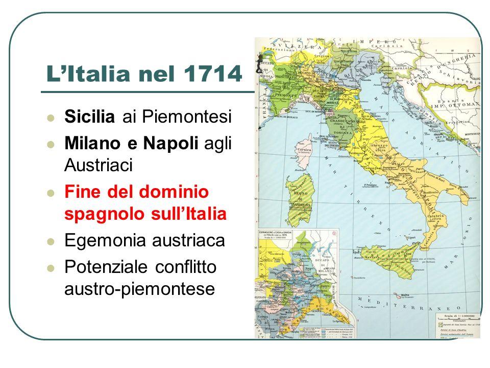 Vittorio Amedeo II di Savoia Vittorio Amedeo II di Savoia trasforma il Ducato in Regno ottenendo prima la corona Sicilia e poi quella di Sardegna; avvia importanti riforme amministrative sul modello francese