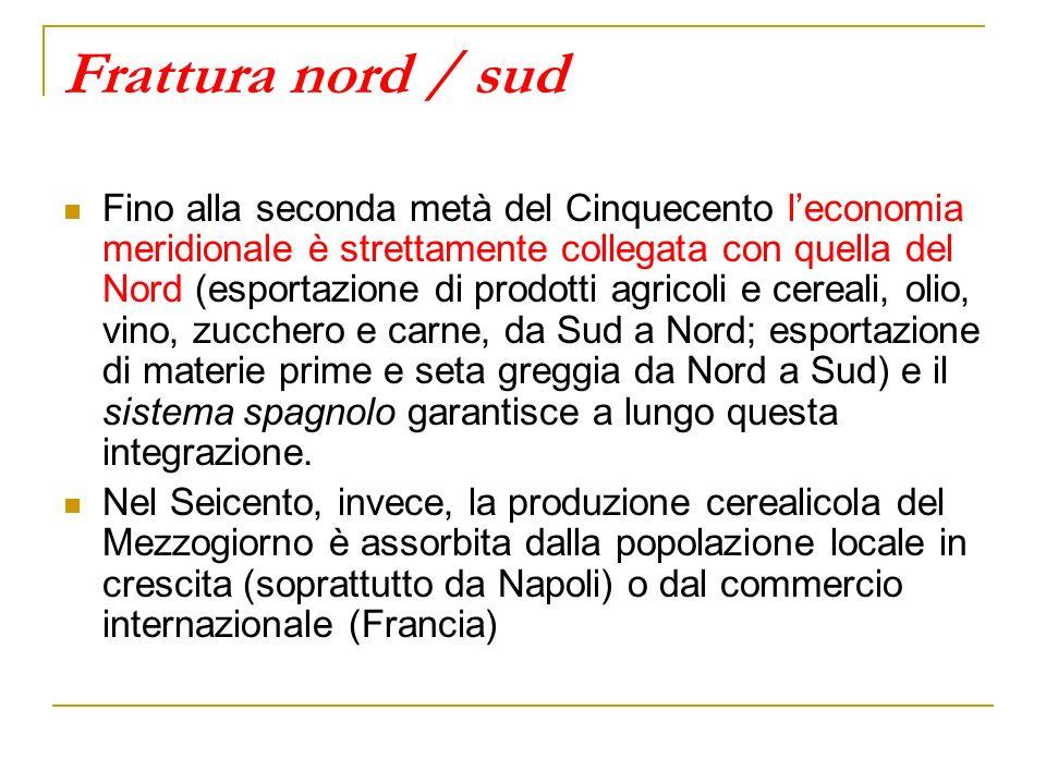Cosa cambia in Italia nel corso del Seicento.