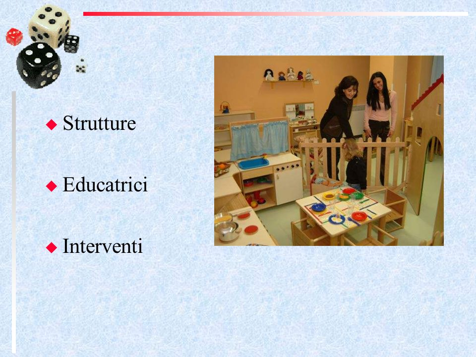 Strutture Educatrici Interventi