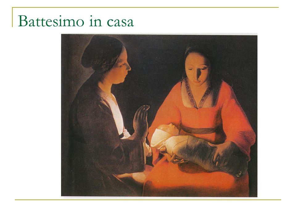 Battesimo in casa