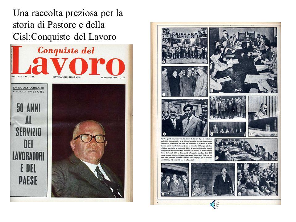 1956:…con i partecipanti al Corso estivo Giovani Cisl del Sud